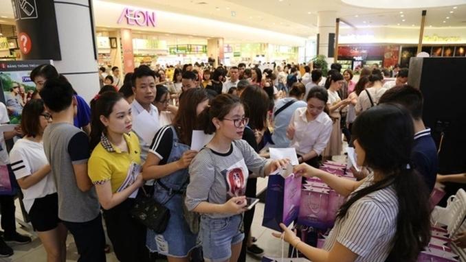 [베트남 리포트] 베트남, 일본 화장품 체험 축제 '성황'