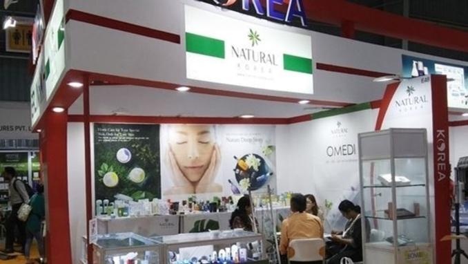 내츄럴코리아, 인도 화장품 B2B시장 개척 나섰다
