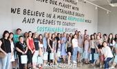 아로마티카, 러시아 유명 뷰티 인플루언서, 바이어 65명 오산공장 워크숍
