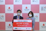 현대바이오랜드, 미혼모 위해 사랑의열매 6,500만원 상당 마스크팩 기부