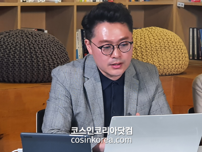 지난달 25일 실시한 웨비나에서 박지혁 닐슨 전무가 '코로나19가 바꾼 국내외 유통과 이커머스 시장 동향'을 발표했다.